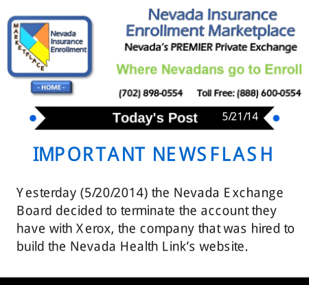 Post 5-21-14 | Nevada Exchange terminates account with XEROX