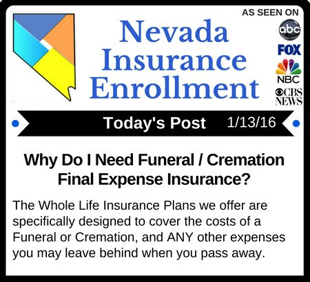 Post 1-13-16 | Why Do I Need Final Expense Life Insurance?