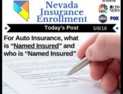 "Post - For Auto Insurance, what is ""Named Insured"" and who is ""Named Insured"""