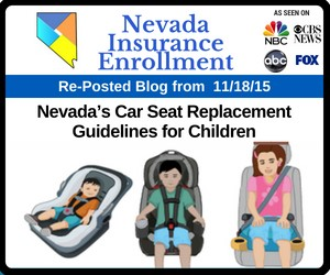 RePost - Nevada's Car Seat Replacement Guidelines for Children