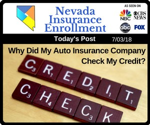 Post - Why Did My Auto Insurance Company Check My Credit?