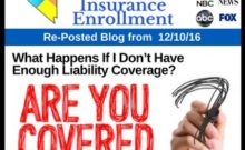 RePost - What Happens If I Don't Have Enough Liability Coverage