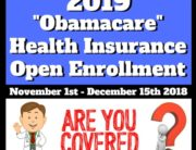 2019 Obamacare Health Insurance Open Enrollment in Las Vegas, Nevada