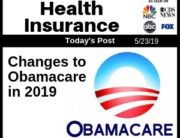 Post - Health Insurance Changes to Obamacare