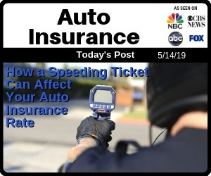 Post - How a Speeding Ticket Can Affect Your Auto Insurance Rate
