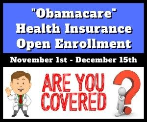 Obamacare Health Insurance Open Enrollment - Are You Covered?