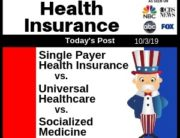 Post - Single Payer Health Insurance vs. Universal Healthcare vs. Socialized Medicine