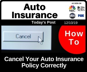 Post - How to Cancel Your Auto Insurance Policy Correctly
