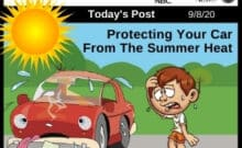 Post - Protecting Your Car From The Summer Heat