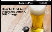 Post - How To Find Auto Insurance After A DUI Charge