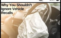 Why You Shouldn't Ignore Vehicle Recalls